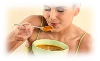 ingerir sopa