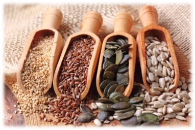 sementes variadas