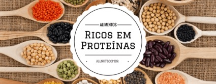 Imagem com titulo E as proteinas